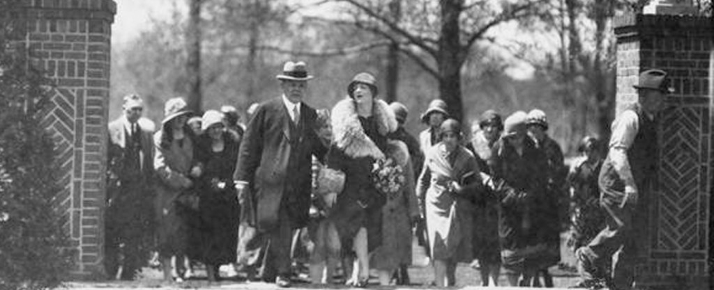 Shakespeare Garden Tree Planting Ceremony 1926