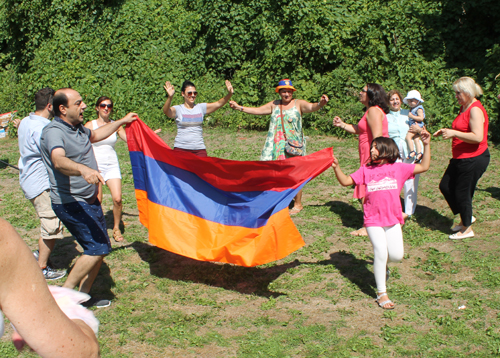 Armenian dance at One World Day