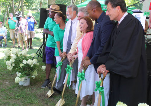 Groundbreaking at One World Day