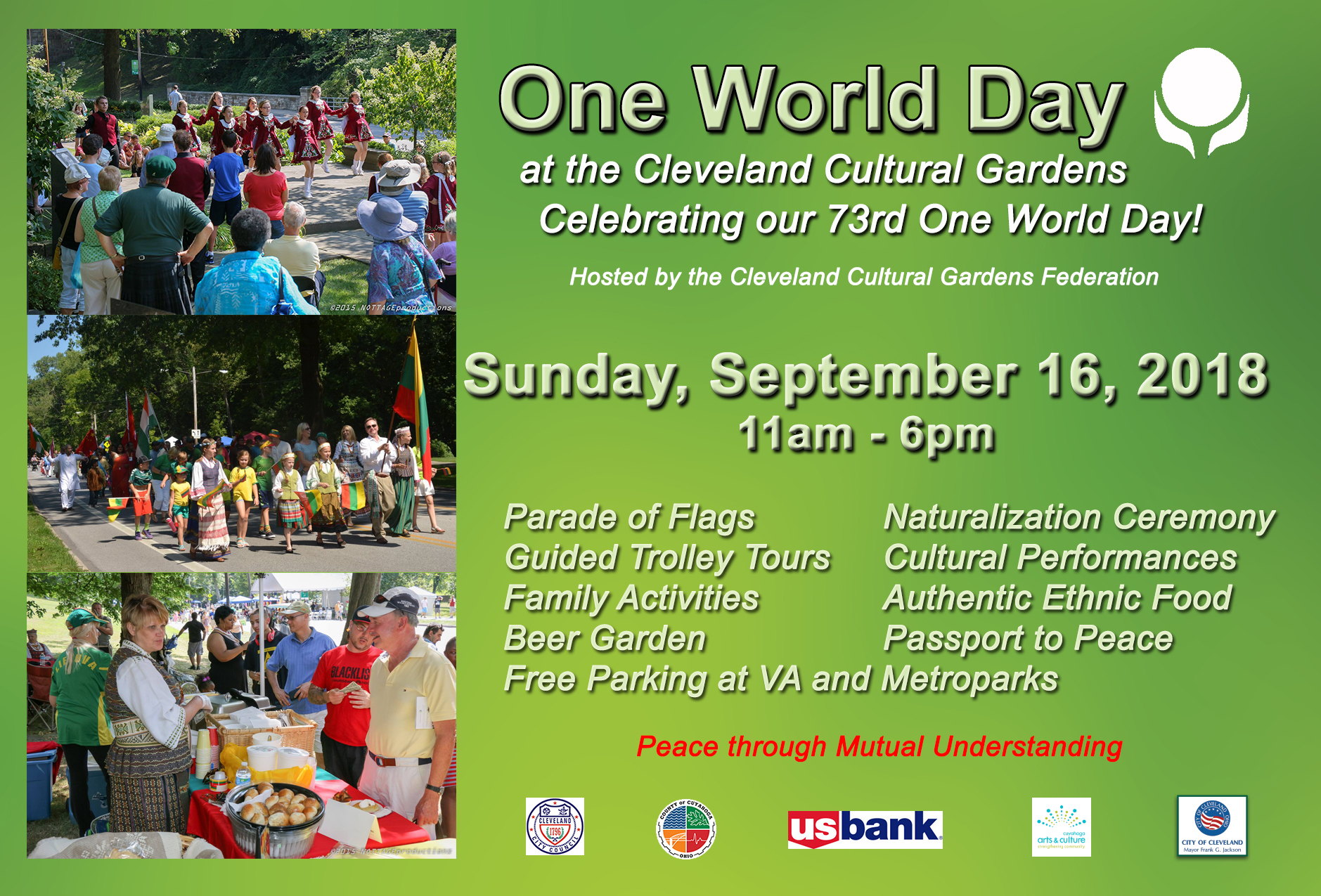 One World Day @ Cleveland Cultural Gardens