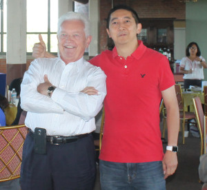 Ken Kovach and Johnny Wu