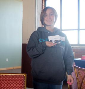 One World Day Volunteer Appreciation event raffle winner