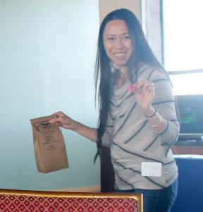Lisa Wong - One World Day Volunteer Appreciation event raffle winner