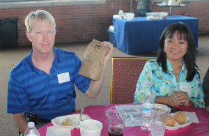 Mike and Oanh Powell - One World Day Volunteer Appreciation event raffle winner
